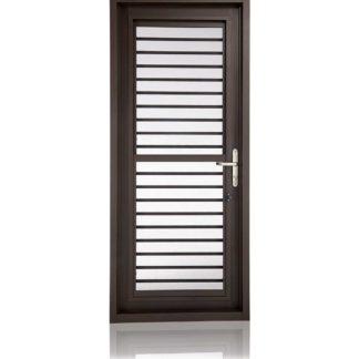 良展三合一通風門 - 結合紗門與防盜通風功能