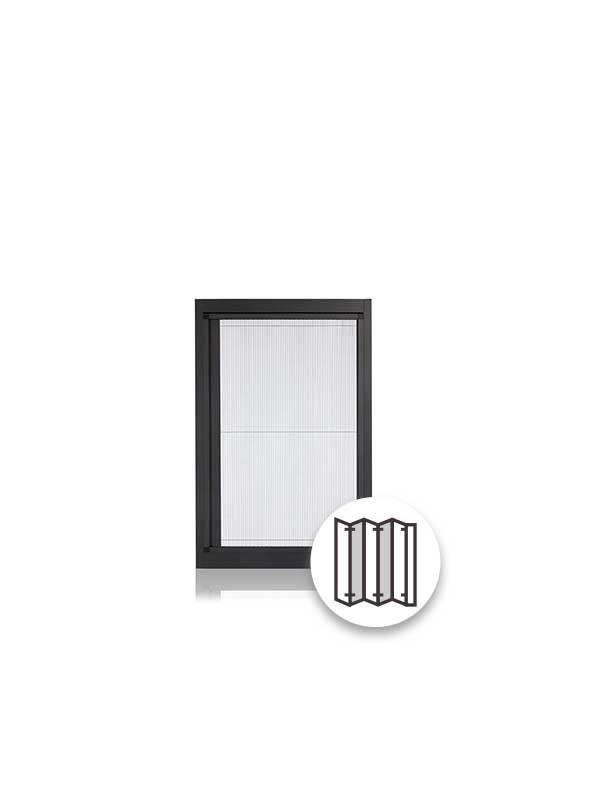 良展摺疊紗門窗系列 - 井美無縫摺紗系列