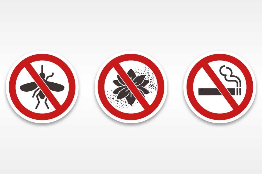 GreenWeb防霾紗窗 - 網格細密,能有效防蟲、防花粉、防二手菸