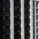 與良展配合之建案 - 台中市 - 國泰綠博苑 - 產品 : 摺疊紗門 / 摺疊紗窗 - 陽台近照