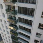 與良展配合之建案 - 台中市 - 人文天璽 - 產品 : 摺疊紗窗 - 窗台近照