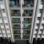 與良展配合之建案 - 台中市 - 人文天璽 - 產品 : 摺疊紗窗 - 窗台正面