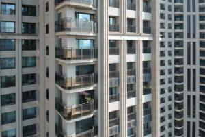 與良展配合之建案 - 台中市 - 國泰森林觀道 - 產品 : 摺疊紗窗 - 窗台近照