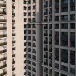 與良展配合之建案 - 台中市 - 國泰森林觀道 - 產品 : 折疊紗窗 - 建築側面