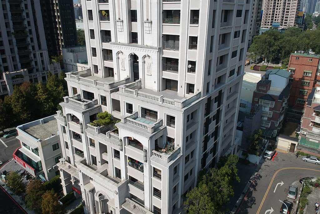 與良展配合之建案 - 台中市 - 時代圓滿大廈 - 產品 : 折疊紗窗 - 代表圖