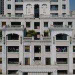 與良展配合之建案 - 台中市 - 時代圓滿大廈 - 產品 : 折疊紗窗 - 建築正面