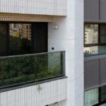 與良展配合之建案 - 台中市 - 國泰頤湖苑 - 產品 : 防蚊折疊紗窗 - 窗台近照