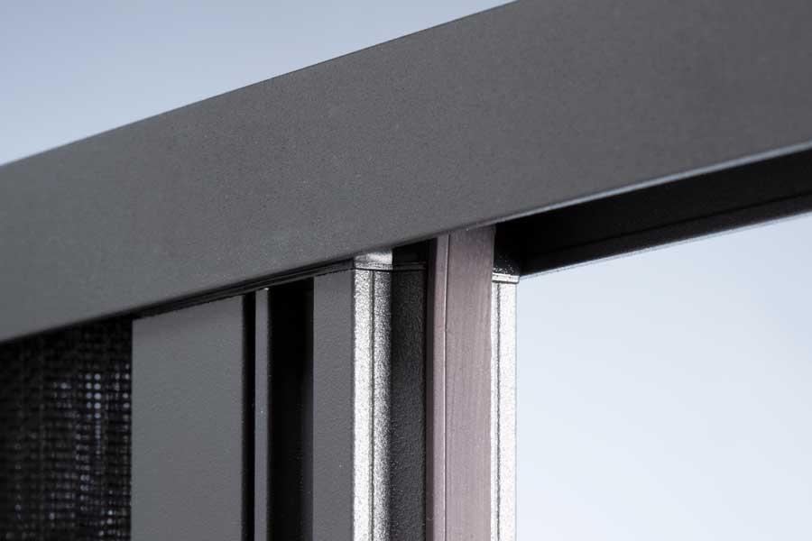 Craft Cover凱福工藝摺疊紗門窗-磁吸式設計-摺疊紗窗與紗門密閉性更佳
