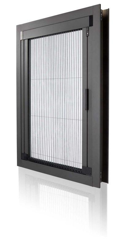 良展紗門展示圖 - EZslide輕靜無軌摺疊紗門樣品